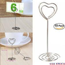 wedding table number holders table number holders wedding supplies ebay