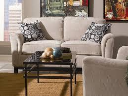 Modern Beige Sofa by Chenille Fabric Modern Living Room Sofa W Options