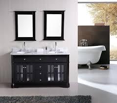 bathroom cabinet design double sink vanity application for spacious bathroom design