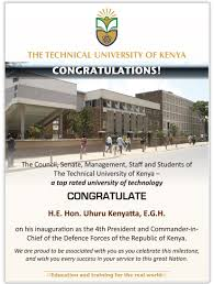 latest news the technical university of kenya