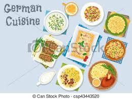 cuisine en allemand cuisine allemand dessert dîner bière icône fromage