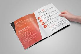 bi fold u0026 tri fold brochure template on behance