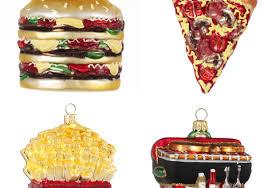 trendy food ornaments tree for chritsmas decor