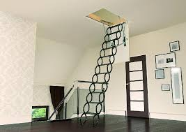 folding attic stairs enter the attic safely even with small