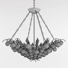 Currey And Company Lighting Currey And Company Quantum Chandelier Lighting 3d Model Max Obj