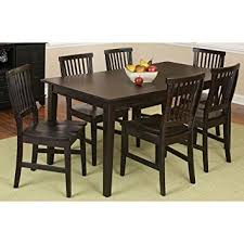 Arts And Crafts Dining Room Set Amazon Com Home Style 5181 319 Arts And Crafts 7 Piece