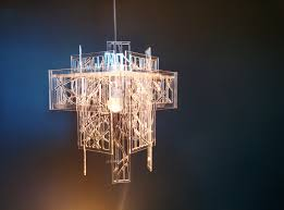 Clip On Ceiling Light Bulb Shades by Recycled Acrylic Laser Cut Light Shade Chandelier 70 00 Gbp