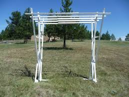wedding arch plans free diy wedding arbor portable adjustable