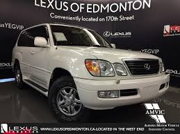 lexus lx us news used white 2001 lexus lx 470 4wd suv walkaround review