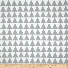 Discount Home Decor Fabric by Rca Pax Triangles Blackout Drapery Fabric Grey Discount Designer