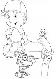 handy manny tools coloring pages handy manny cartoon coloring for kids printable coloring pages