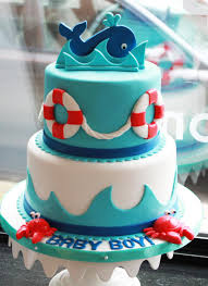 nautical baby shower cakes bakeshop philadelphia tiered whale baby shower cake