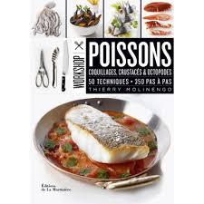 livre cuisine poisson poissons coquillages crustacés octopodes 50 techniques 350