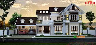 double floor kerala home design 3399 sq ft dream home ideas
