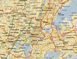 map of new city york map
