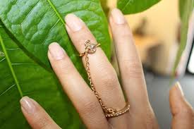 finger chain rings images Mini peace chain ring i am adored uk JPG