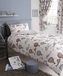 Toy Story Cot Bed Duvet Set Aviation Aeroplane Air Balloon Kids Double Bed Duvet Quilt Cover