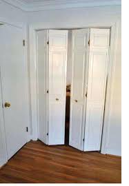 How To Install Folding Closet Doors Closet Reliabilt Bifold Closet Doors Home Fashion Technologies