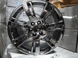 cadillac escalade black rims 22 2015 cadillac escalade premium style gmc pvd black chrome wheels
