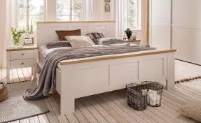 Schlafzimmer Komplett 140 Cm Bett Schlafzimmer Komplett Im Landhausstil Modell Sloane Von Wiemann