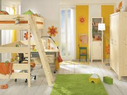 kids furniture neutral and bright color combination for kids room