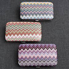 manicure set favors chevron design travel manicure set favor kits its a wrap