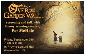 event calendar over the garden wall screening and talk with