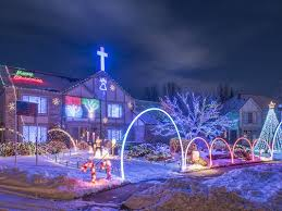 christmas lights in michigan livonia lights christmas light show home facebook