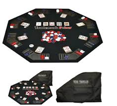 poker table top and chips brand new traveler poker table top texas poker chip set 300 pcs xmas