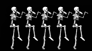 Halloween Skeleton Names Sanavision Studios Dancing Skeletons Halloween Promo Youtube
