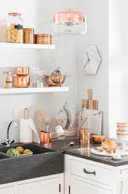 kitchen decorating ideas with accents best 25 copper kitchen decor ideas on copper copper