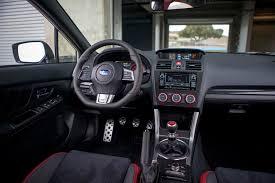 subaru wrx custom interior 2015 subaru wrx sti first drive motor trend