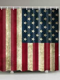 Saipan Flag 2018 Waterproof Fabric Patriotic American Flag Print Shower