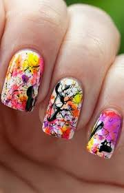 splatter paint nails google search nails pinterest
