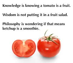 Tomato Meme - knowledge is knowing tomato is a fruit
