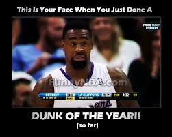 Funny Clippers Memes - 2013 dunk of the year so far deandre jordan nba funny moments