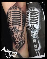 microphone tattoos askideas com
