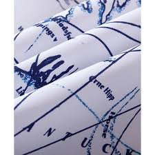 blue and white nautical anchor shower curtains
