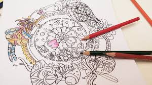 fairy circle coloring book digital mandala art coloring