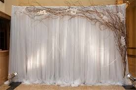 tulle backdrop rustic weddings 30 unique and breathtaking wedding backdrop