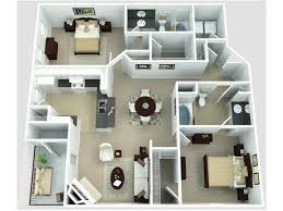 Georgetown Floor Plan 2 Bed 2 Bath Apartment In College Park Md Wynfield Park