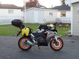 cbr 150 you can u0027t tour on that a 4000km ontario trip on a 2011 cbr150r