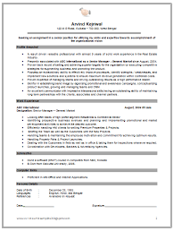 Example Of A One Page Resume by Example Of Cv Information Technology