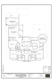 Luxury Custom Home Floor Plans French Renaissance Plan 6426