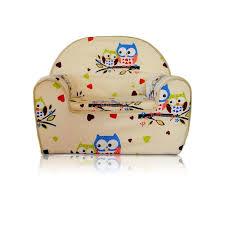 siege en mousse pour bébé fauteuil pour enfant canapé siège enfant en mousse 08 hibou jaune