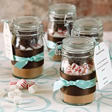 jar ideas for weddings diy hot chocolate favor bridalguide