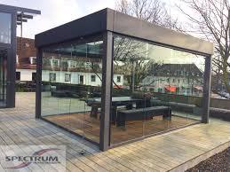 atrium sliding glass doors glass partitions and balcony glazing by solarlux spectrum