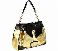 pomp s design by harald gl ckler handtasche mit kettenhenkel luxus bag tasche kette stella