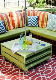 meuble fait en palette meuble en palette moderne élégant et écologique