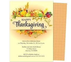 free thanksgiving invitation templates thanksgiving template